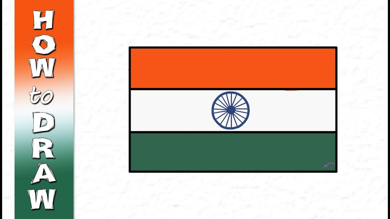 Kids Drawings National Flag - YouTube