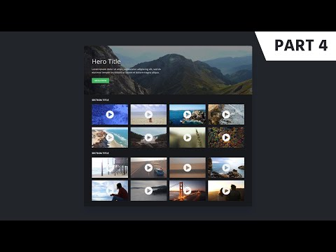 jQuery Tutorial: YouTube Video Gallery and Responsive Lightbox Plugin thumbnail