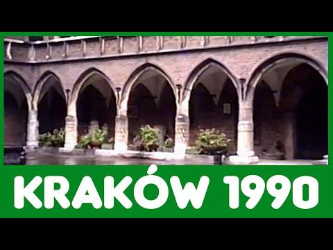 KRAKÓW 1990r. ♚ WAWEL ♚ Rynek w Krakowie ♚ Sukiennice ♚ Hejnał Mariacki
