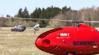 Schiebel CAMCOPTER® S-100 MUM-T LOI 5 Demonstration
