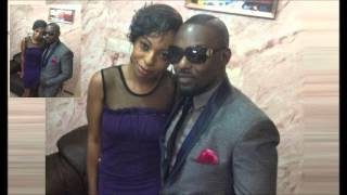 Jim Iyke steps out with kid sister PHOTO