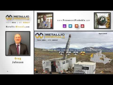 Metallic Minerals - Interview mit Proven & Probable Mai 2019