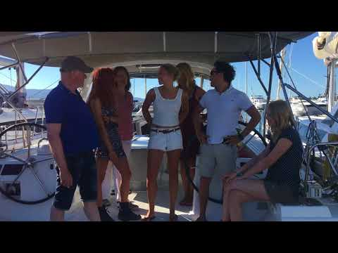 Kiki and her family on their Greek Sailing Holiday