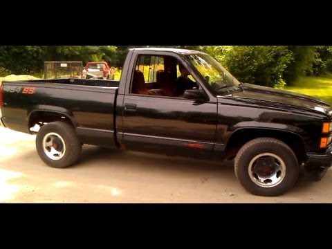 Classic 1990 Chevy 454 SS Burnout - YouTube