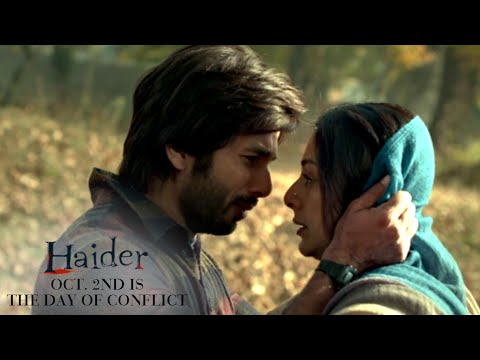 Haider | Oct. 2nd Is The Day of Conflict | Shahid Kapoor & Shraddha Kapoor
