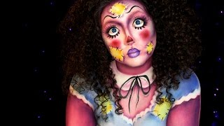 Rag Doll Halloween Makeup Tutorial | Jordan Hanz | HANZOWEEN