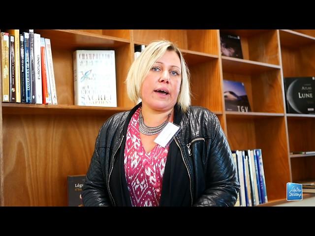 Interview de Charline Lahanque, animatrice au centre de Vitry-Le-François