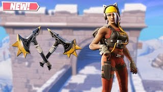NEW CATASTROPHE SKIN GAMEPLAY! NEW LEAKED SKINS ON FORTNITE!! FORTNITE BATTLE ROYALE!!!