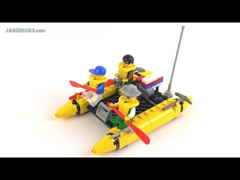 Vintage 1994 LEGO System River Runners set 6665 reviewed!