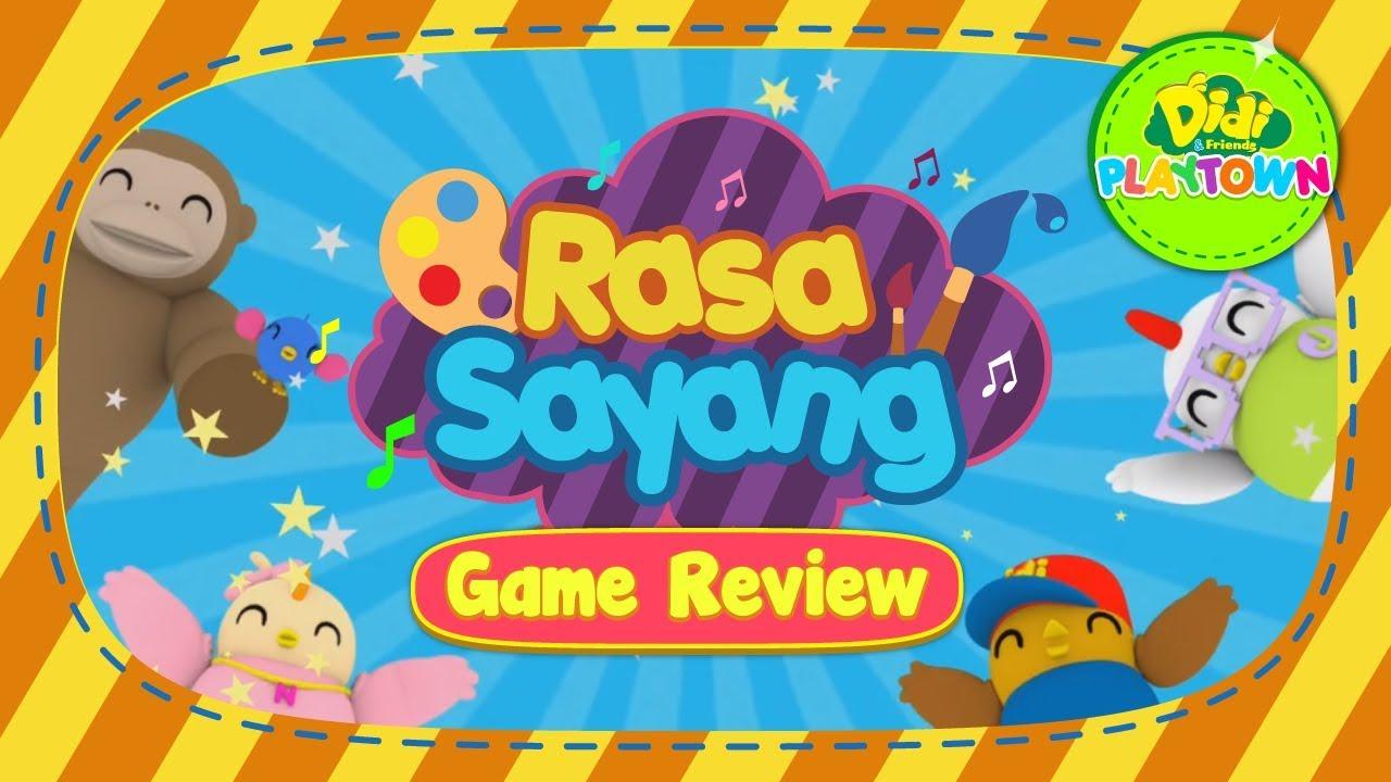 Download Didi & Friends Playtown   Rasa Sayang   Mari Mewarna   Game Review #5