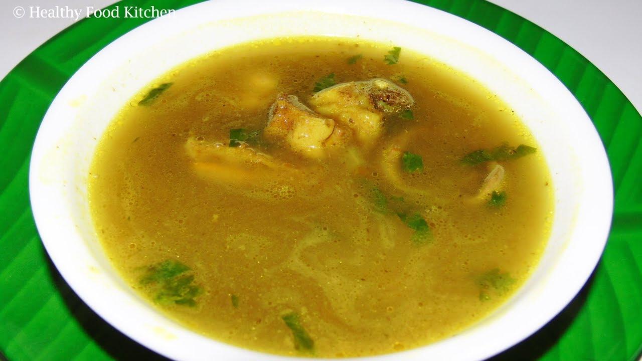 Mutton Soup Recipe - Home Remedy for Cold - Cough Recipe ...