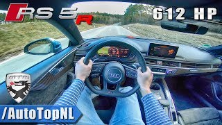 612HP AUDI RS5-R MTM TUNED | POV Test Drive by AutoTopNL