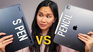 M1 iPad Pro vs Galaxy Tab S7+ // Apple Pencil vs SPEN