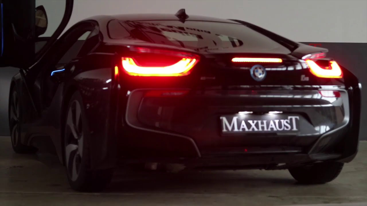 Bmw I8 Active Sound Powered By Maxhaust Soundbooster Youtube
