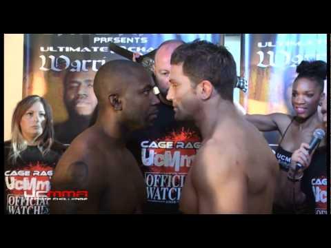 UCMMA: Ultimate Challenge - Cage Rage UK - Alex Reid vs Jason Barrett. - THE KISS!!!
