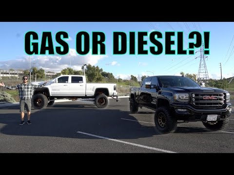 GAS OR DIESEL, WHICH IS THE BEST TRUCK FOR YOU?!
