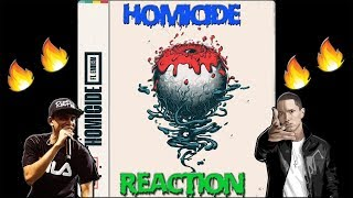 Logic Ft Eminem Homicide Reaction  🔥