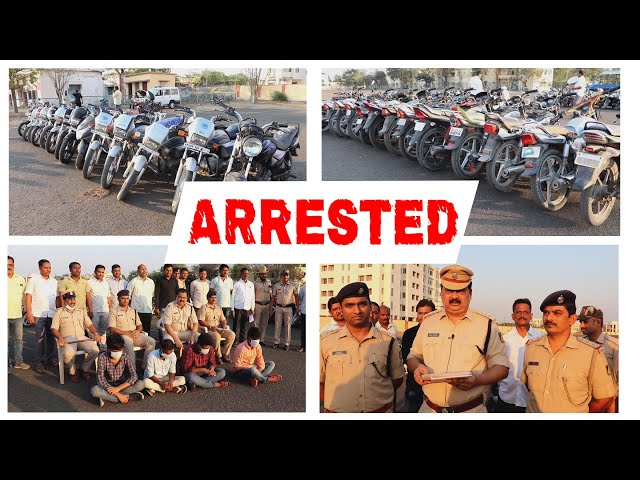 CHOWK POLICE STATION TEAM ARRESTED 4 PERSONS AND RECOVER 43 BIKES WORTH RUPEES 16 LAKHS