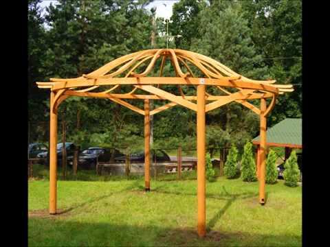 Fabricant abris de jardin en bois gazebos en bois car - Construire un gazebo ...