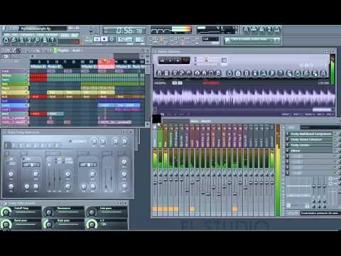 FL Studio - Recording a PsyTrance track...