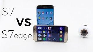 Galaxy S7 VS Galaxy S7 edge | Quais as diferenças?