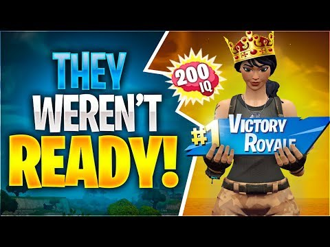 THEY WEREN'T READY! (Fortnite Battle Royale)