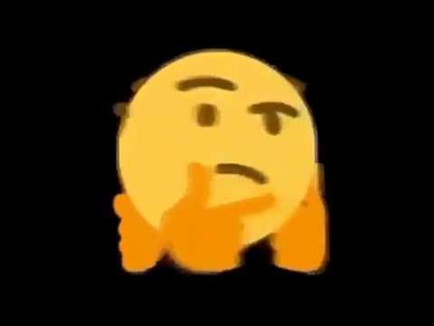 spinning thinking emoji with