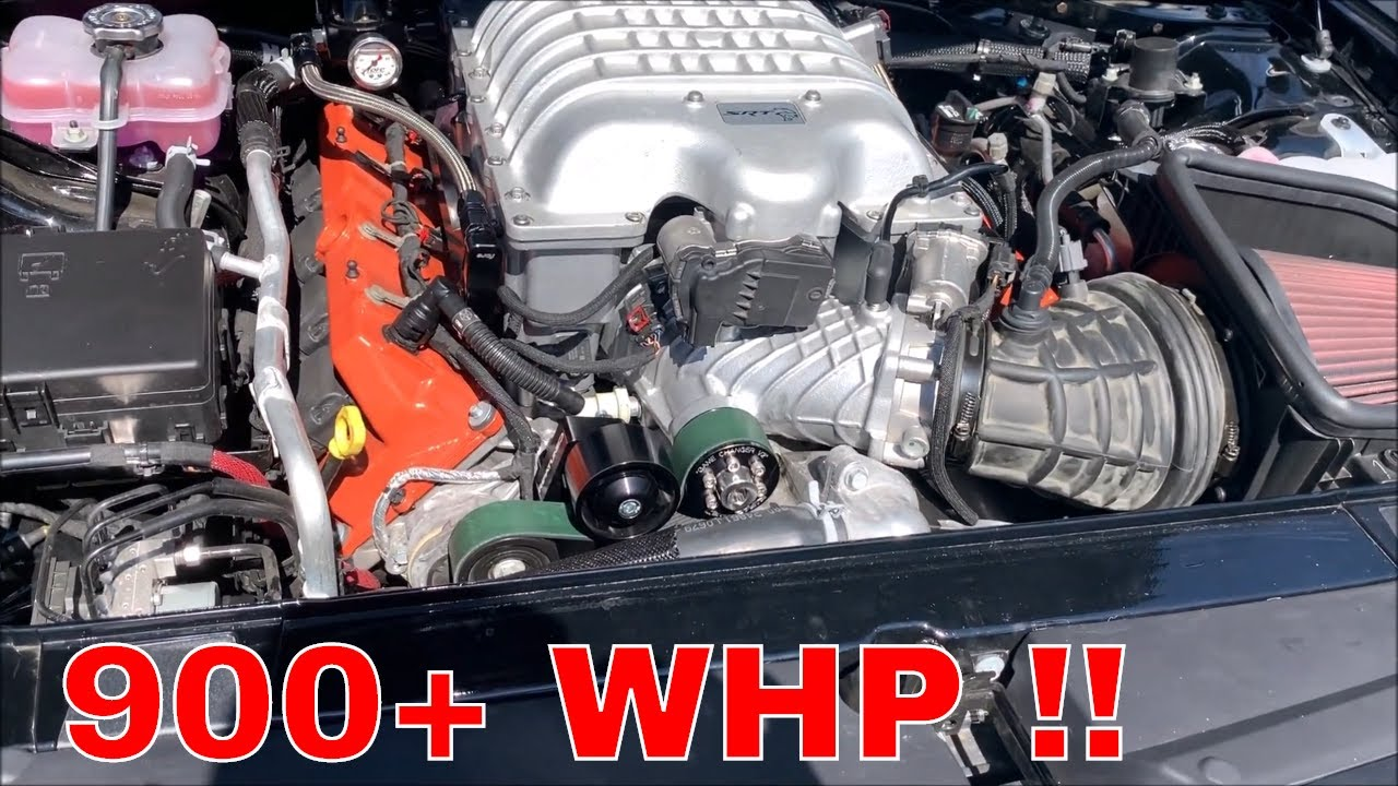 My 900+ whp Hellcat is almost ready to rip !