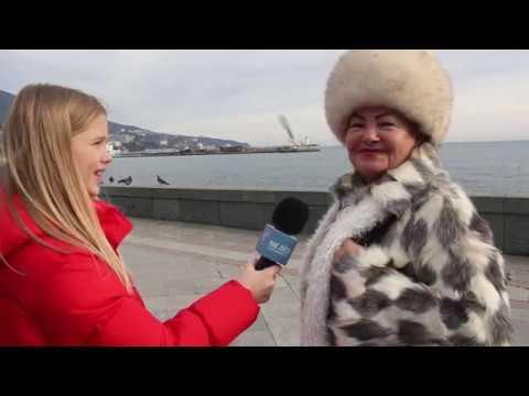 """Ялта .Жители Ялты отвечают на вопросы.Море Звезд Медиа.Урок """"Репортажная съемка"""" 19.01.19"""