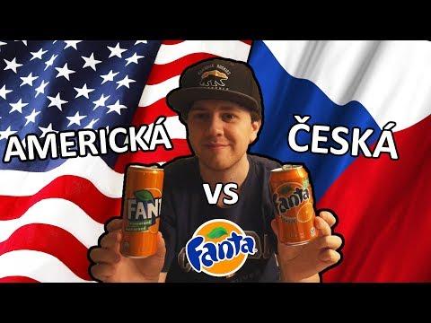 AMERICKÁ VS ČESKÁ FANTA [! DUEL !] - OCHUTNÁVKA - TEST nEscafeX