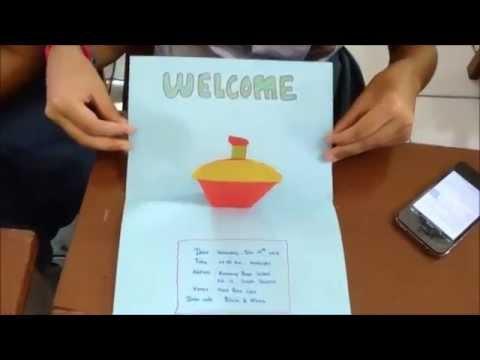 Tugas Bahasa Inggris How To Make An Invitation Card Xi
