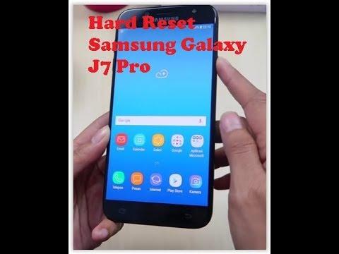 Hard Reset | Factory Reset | Remove Forgotten PIN, Password Samsung Galaxy  J7 Pro