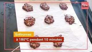 Testez les cookies au chocolat ultra fondants