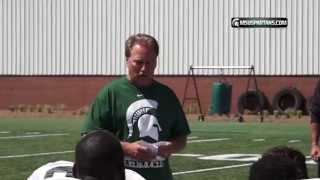 Tom Izzo Ice Bucket Challenge