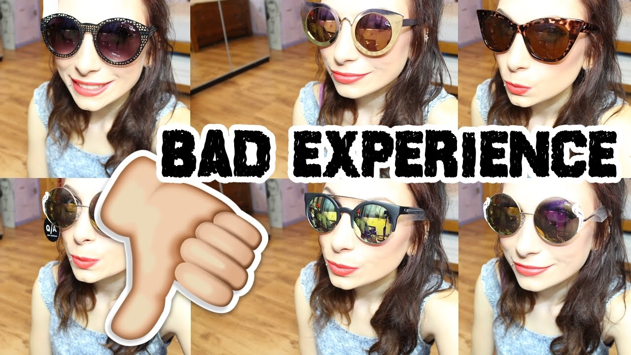 6ced9879b8d Quay Australia Sunglasses Haul (BAD EXPERIENCE) - YouTube
