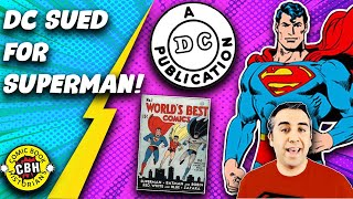 Ep. 24. DC Sued Competition So Superman was the #1 1940s & 1950s Newsstand Superhero by Alex Grand