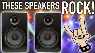 The Incredible Sounding Kanto YU6 Bookcase Speakers!