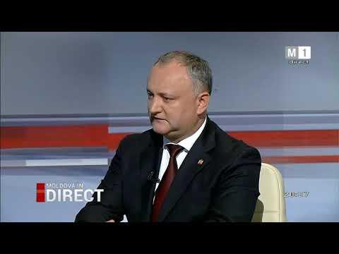 Moldova în direct I Igor Dodon despre schimbarea sistemului de guvernământ