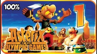Asterix at the Olympic Games Walkthrough Part 1 (X360, Wii, PS2) 100% The Gaulish Village