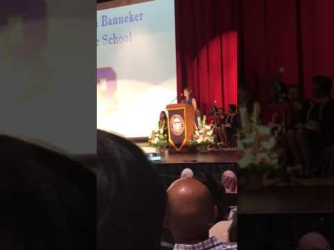Benjamin Banneker Middle School Commencement Exercise