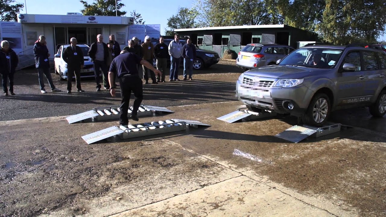 Live Demonstration Of Subaru Forester And Outback S 4x4