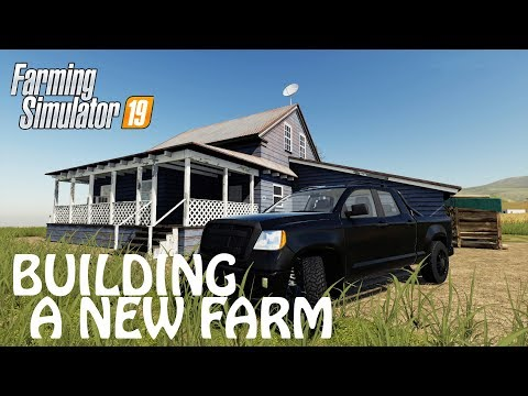 BUILDING A NEW FARM FROM THE SCRATCH in Farming Simulator 2019 | DOPE FARM | PS4 | Xbox One
