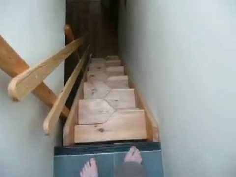 Review Of Space Saver Staircase, Alternate Tread Staircase