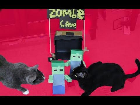 Minecraft Cat Zombie Games