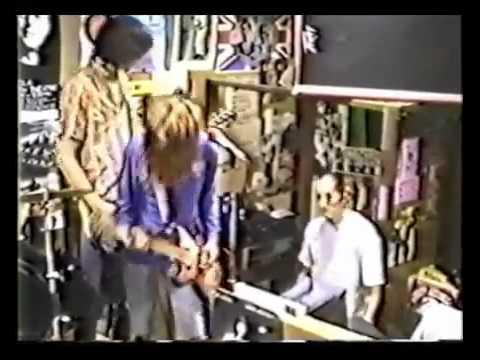 Nirvana - Blew - Rhino Records Westwood, Los Angeles 1989