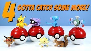 MEGA Construx Pokemon Series 4 Magnemite Togepi Wooper and More Review
