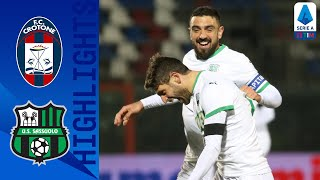 Crotone 1-2 Sassuolo | Caputo Penalty Secures Away Win for Sassuolo | Serie A TIM