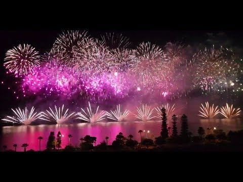 Australia Day Skyworks 2019, Perth, Western Australia