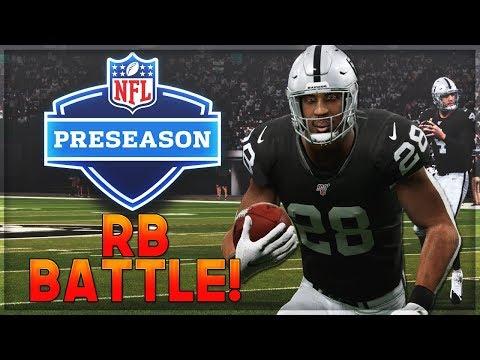 2019 Preseason -- Can Josh Jacobs Win The RB Battle?  | Madden 20 Raiders Franchise Mode | Ep. 1