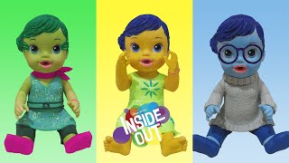 Play Doh Baby Alive Inside OutJoy Sadness Disgust Inspired Costumes